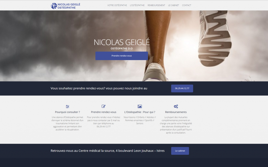 Nicolas Geiglé - Ostéopathe D.O